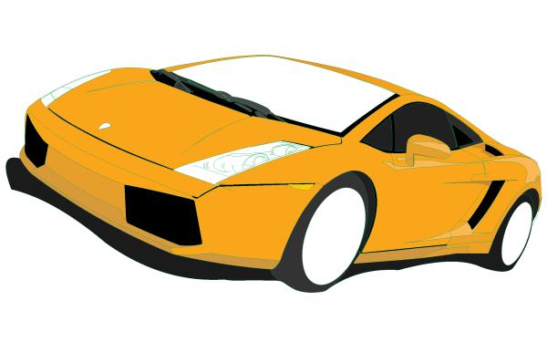 Lamborghini Gallardo Vector Art Clip Art Transportation And