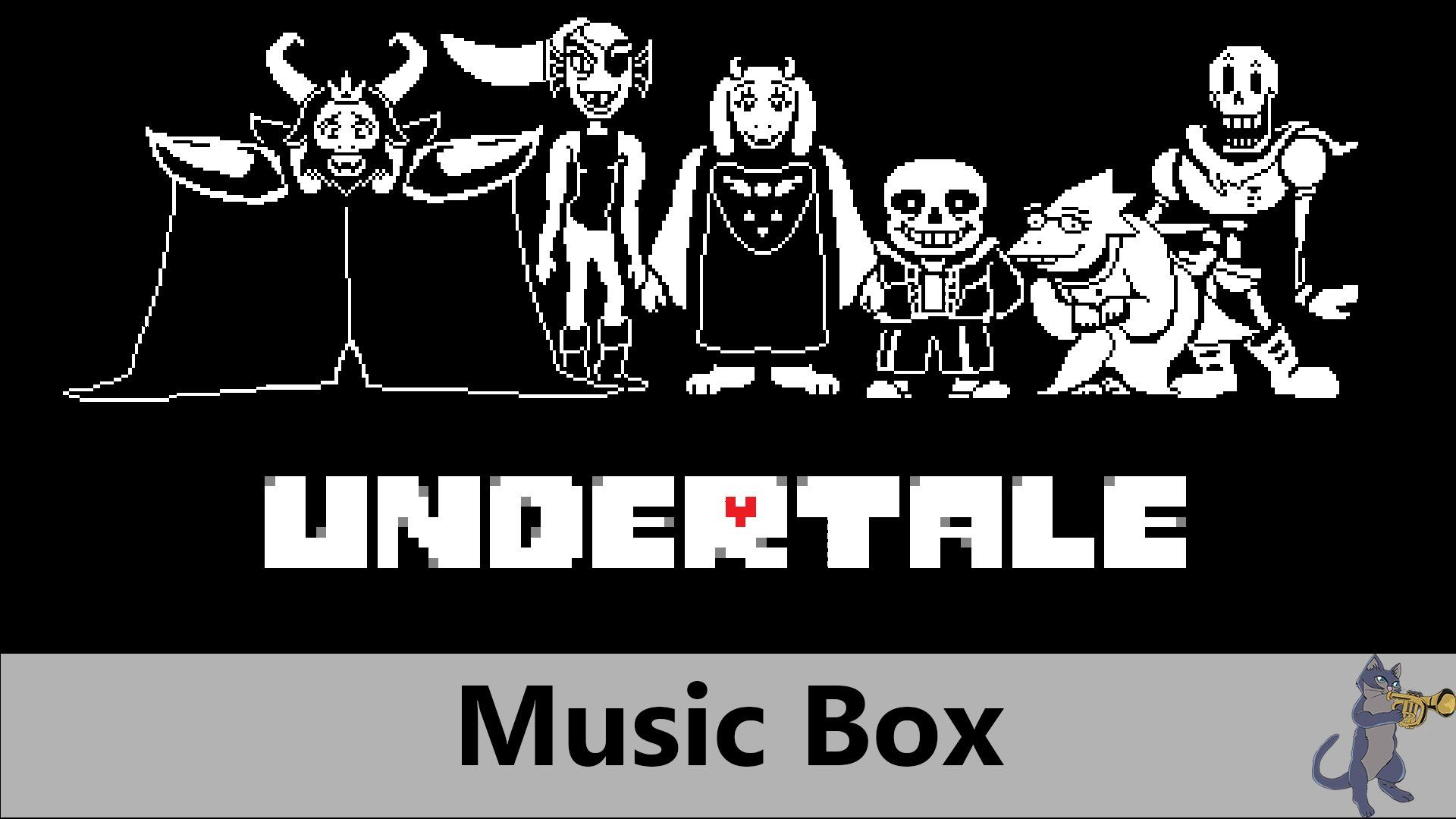 Undertale OST - Megalovania (Music Box) - Sans Final Boss Theme Song