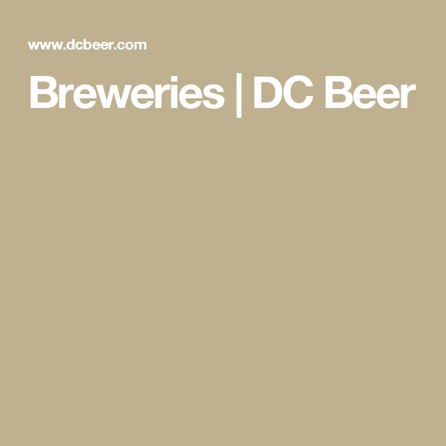 Breweries | DC Beer
