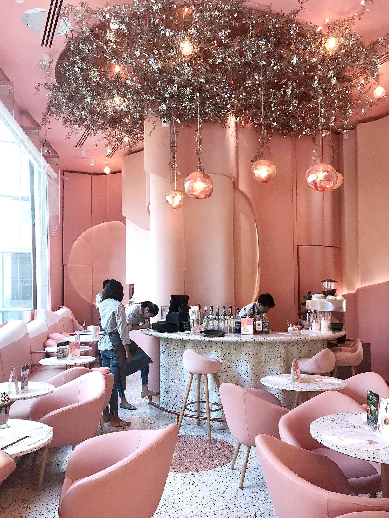 House Of Eden Prettiest Pink Cafe In Bangkok
