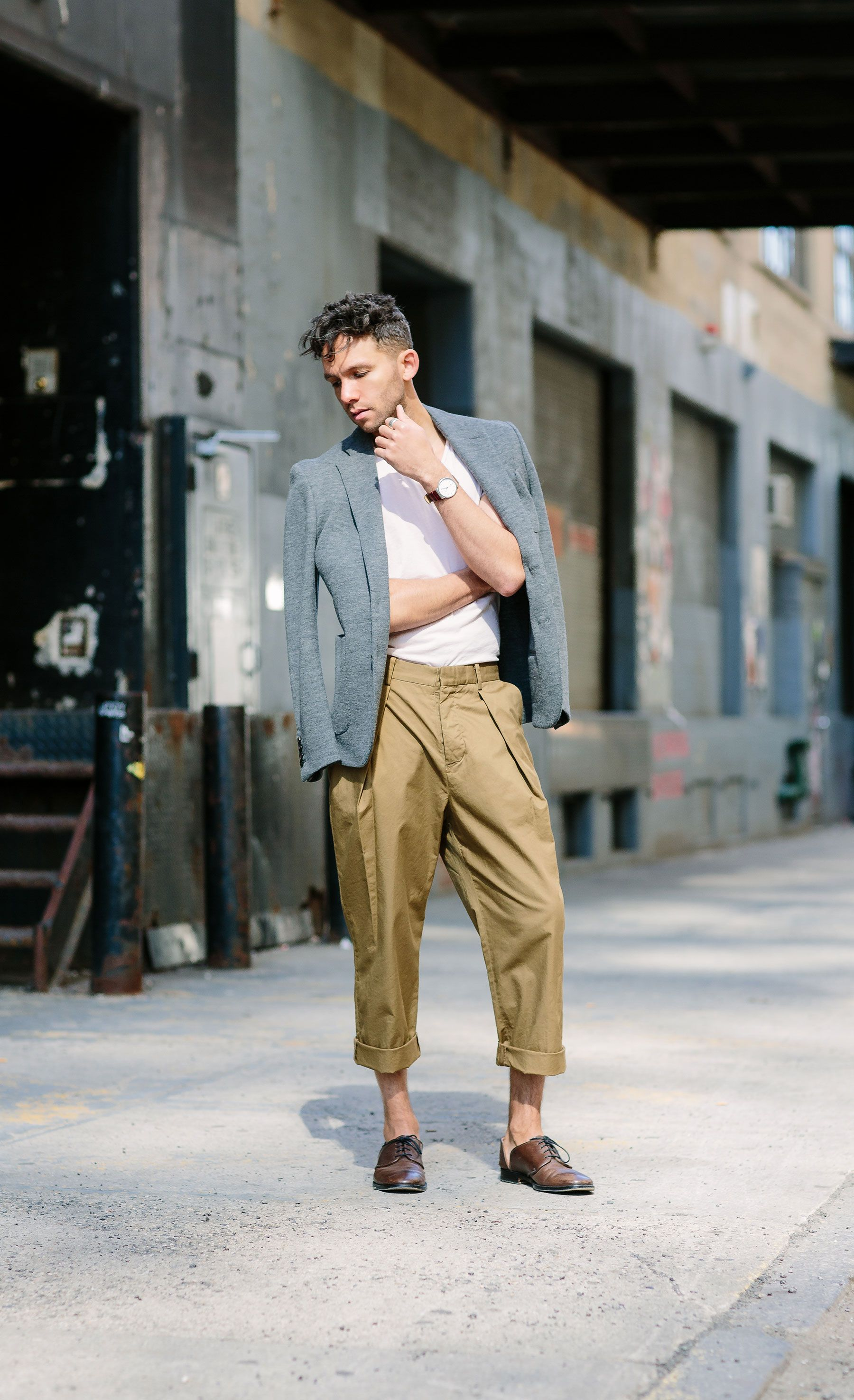 Are Pleated Mens Pants In Style