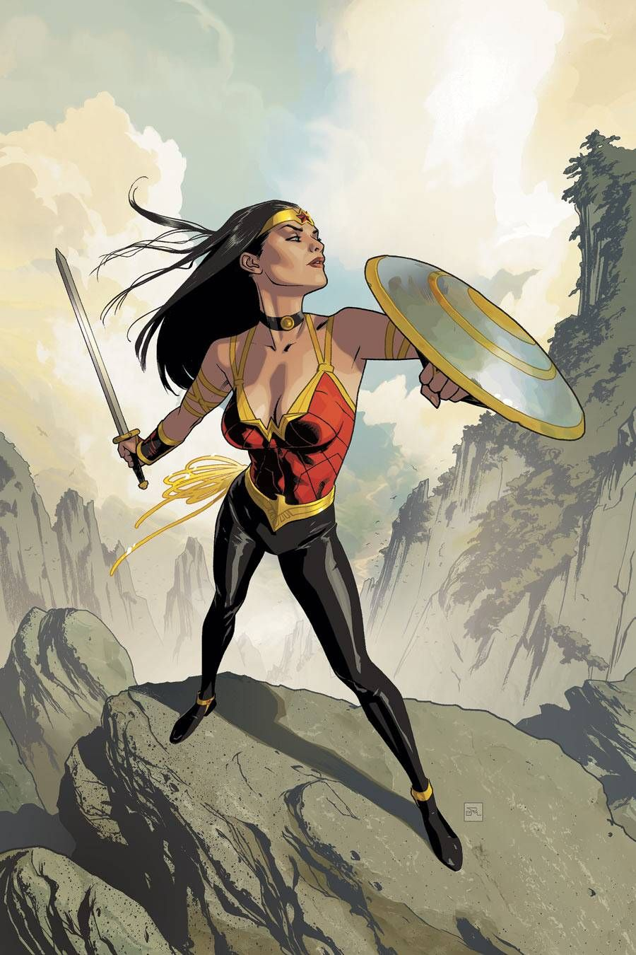 Wonder Woman by Joshua Middleton Mulher maravilha