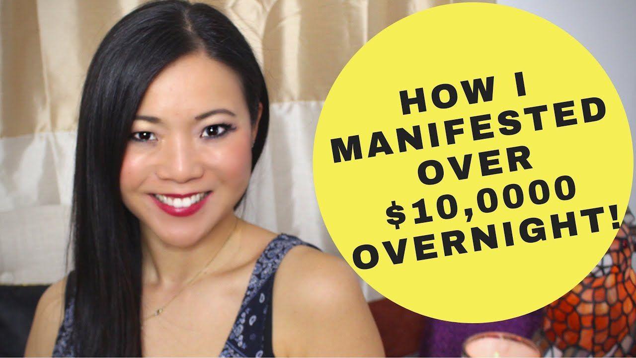 How I Manifested 10,000 Overnight (EXACT STEPS TO