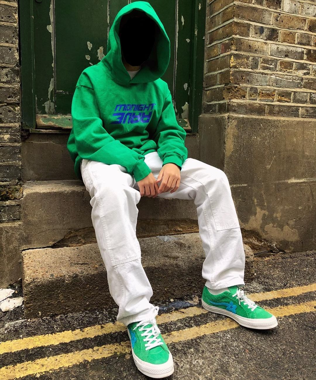 Midnight Studios Hoodie Jolly Green Converse Golf Le Fleur Uno