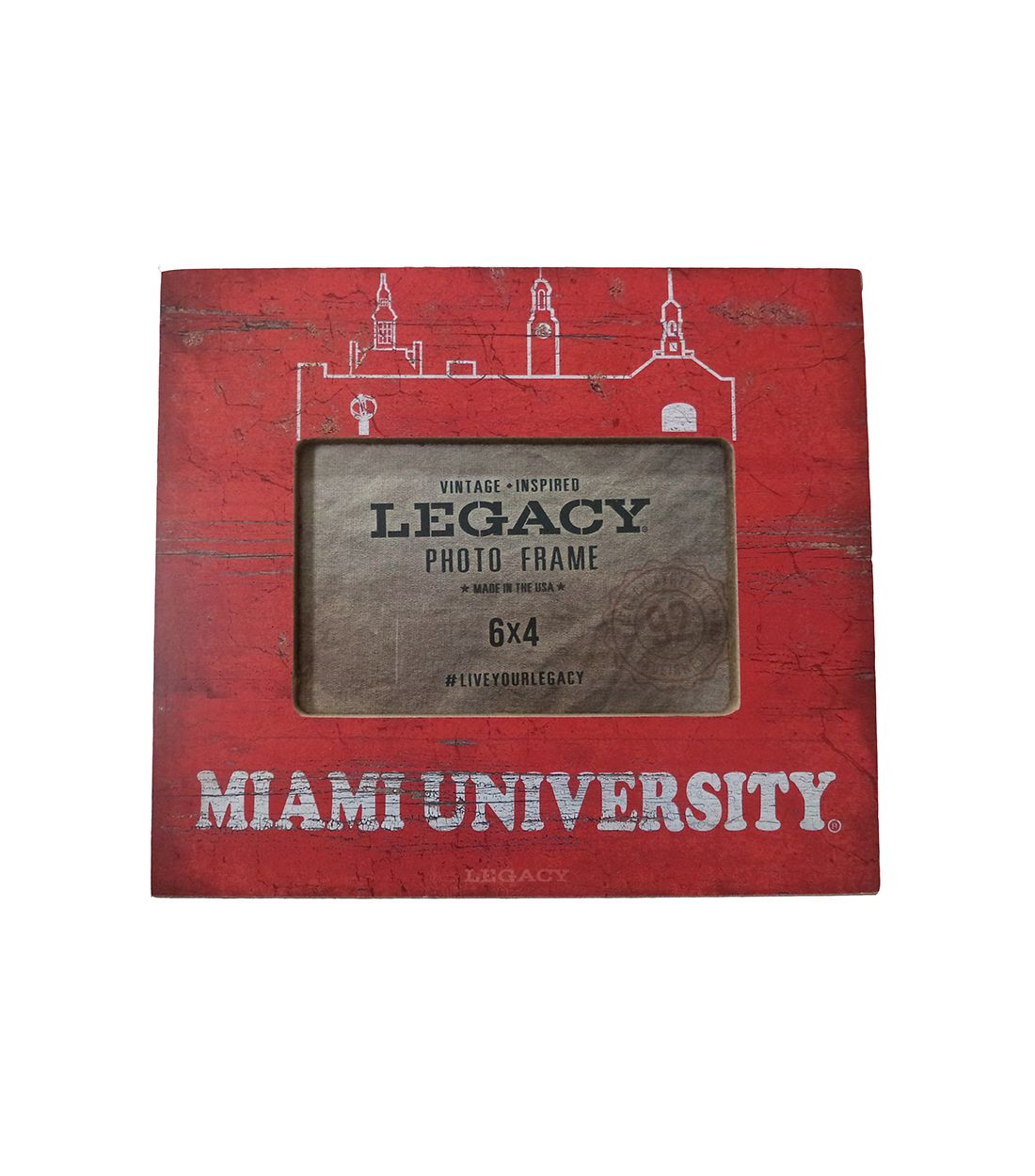 Miami university skyline distressed picture frame miami miami university skyline distressed picture frame jeuxipadfo Choice Image