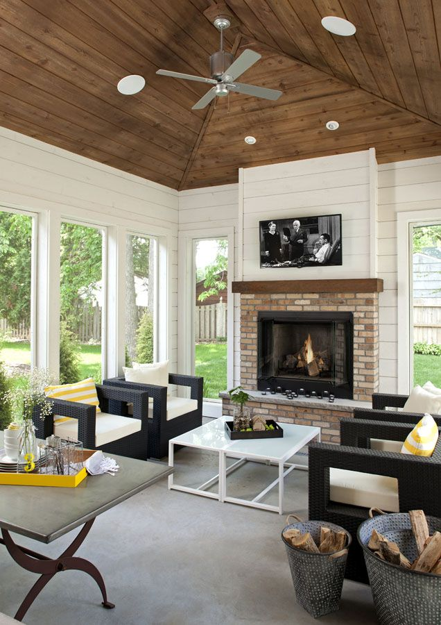 Back Porch Additions Best Ideas About Room Additions On House Additions Interior Designs: House With Porch, Porch Design, Family Room Design
