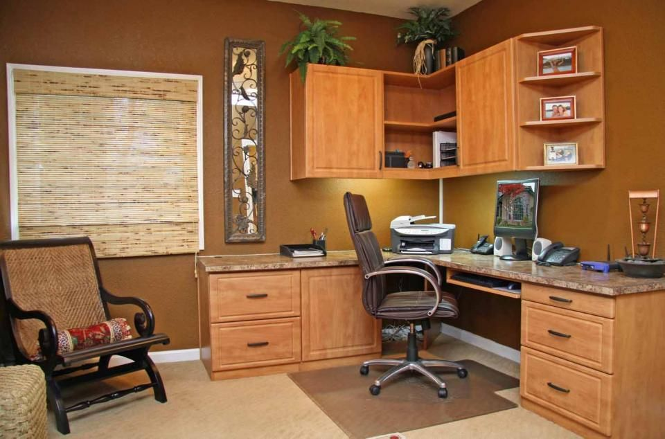 Angled Corner Desk | Organize Home Office Workspace Storage|3 Day Closets|  Home Offices