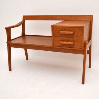 Danish Teak Retro Bench Chair For Sale London Retro Bench Chairs For Sale Chair Bench