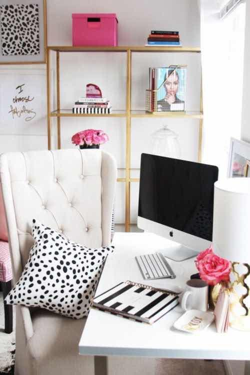 20 Ideas de Decoracin de Escritorios que te Encantarn deco for