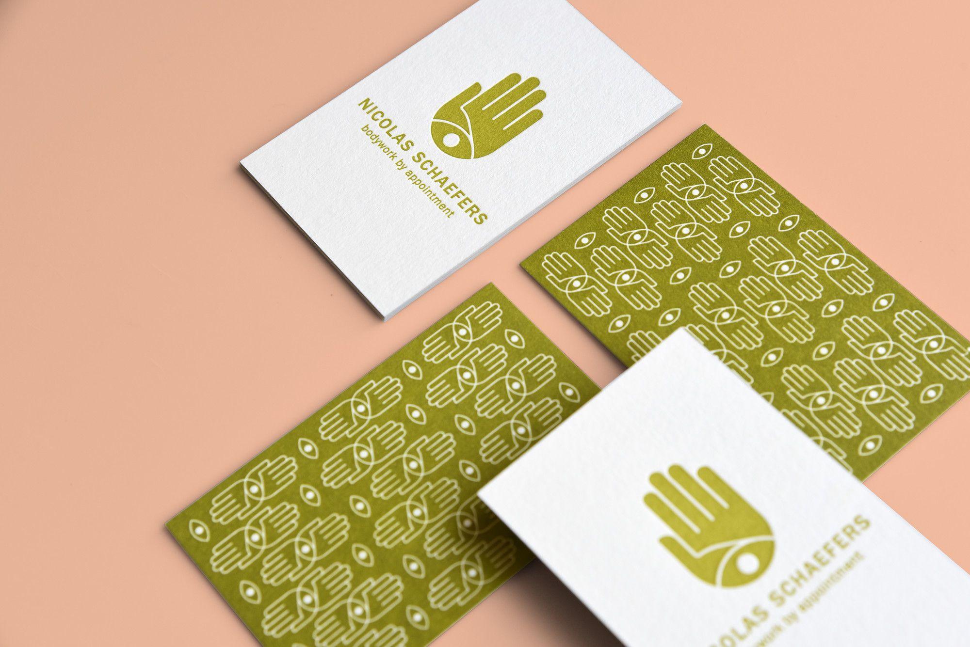 Letterpress Visitenkarten Design Www Klaratroost Com