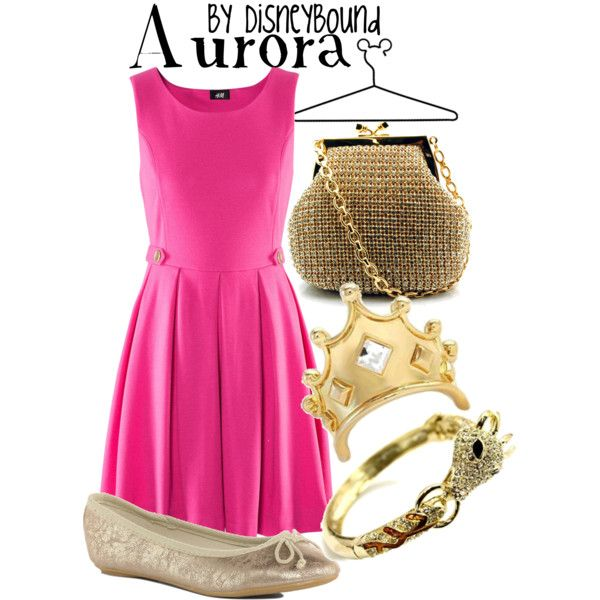 dress like your favorite disney character: Aurora