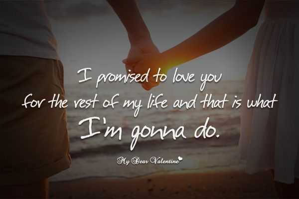 A Promise From Husband To Wife – Wonderful Image Gallery