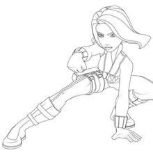 Black Widow Coloring Pages | COLORING PAGES FOR FREE | Pinterest ...