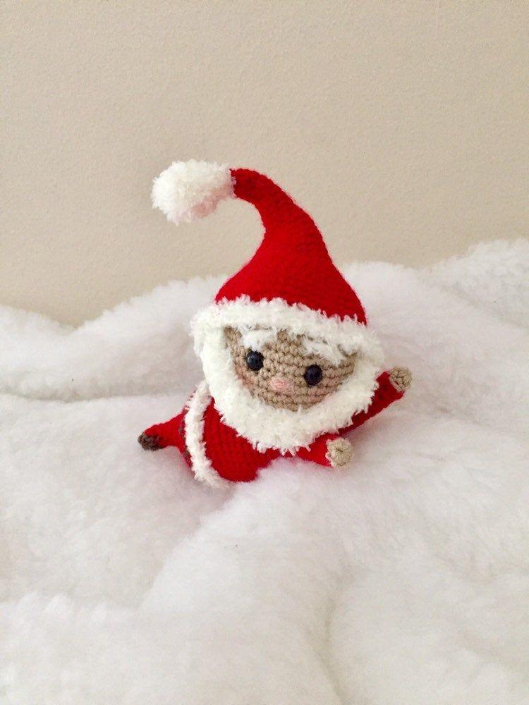 Amigurumi Santa Free Crochet Pattern | Ganchillo navidad, Muñecos ... | 1000x750