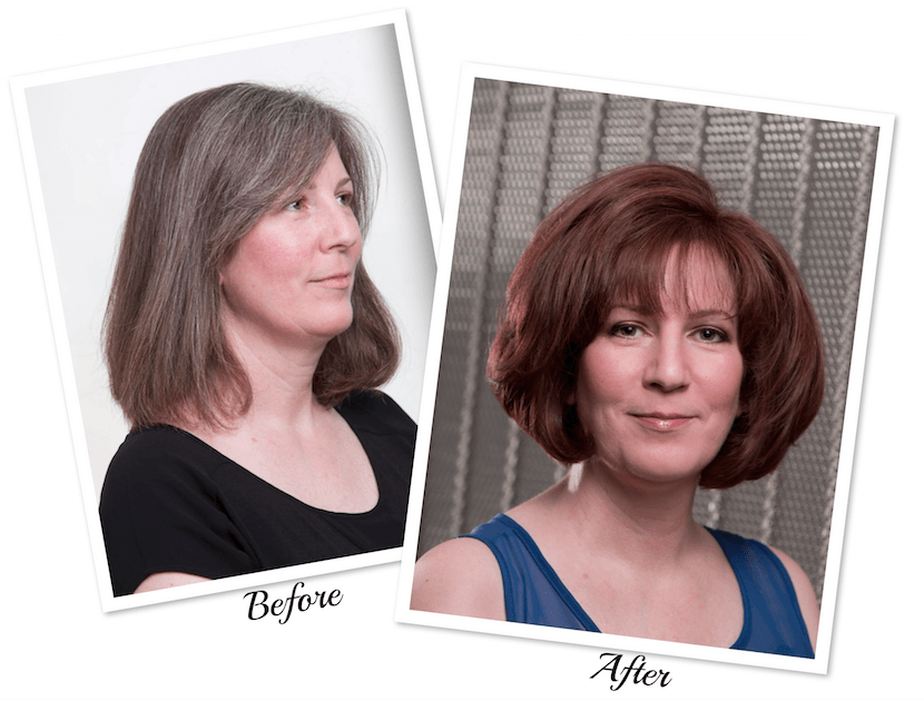 An Amazing Transformation Using Agebeautiful Anti Aging Hair Color Sp