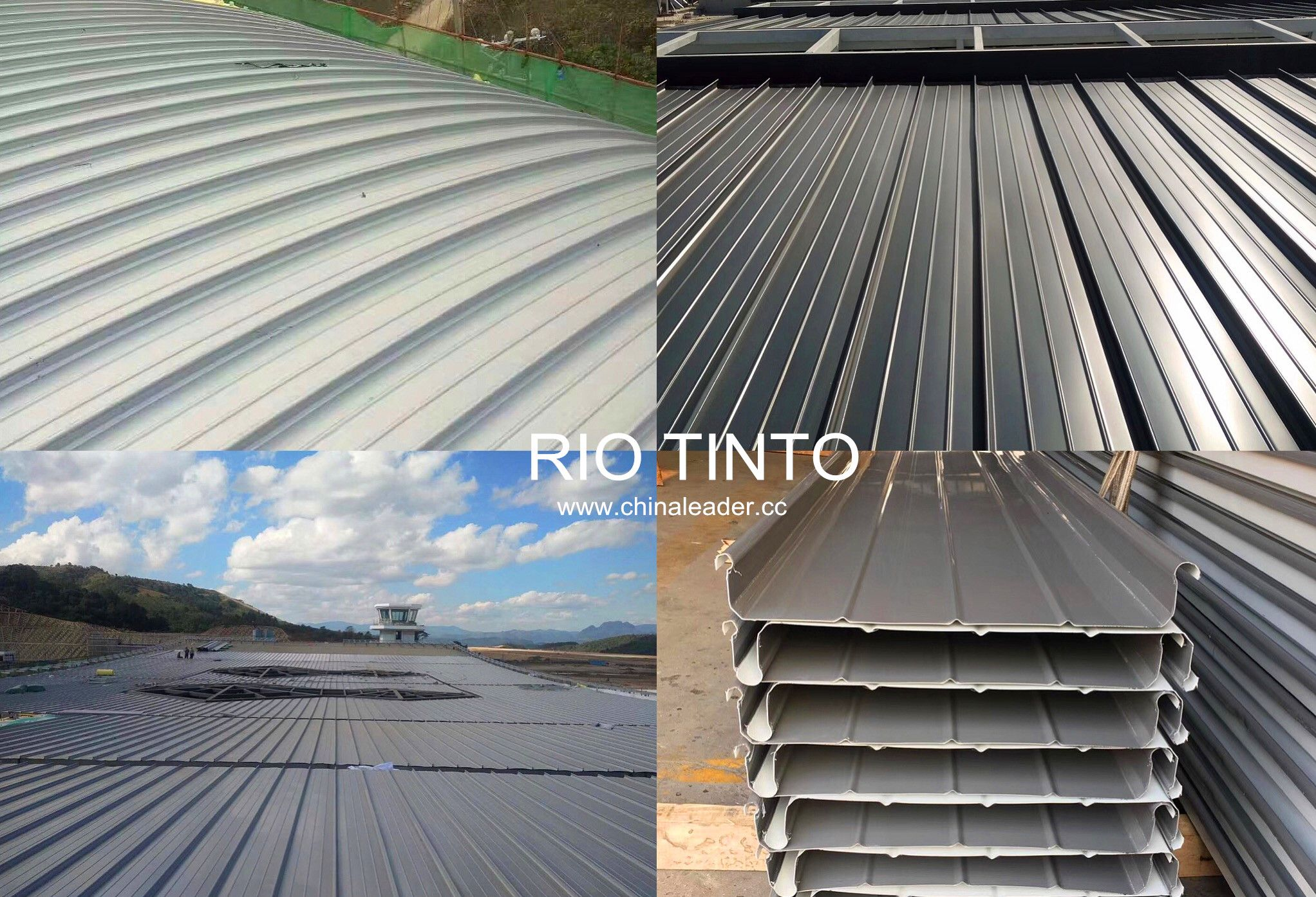 Aluminium Standing Seam Used The Silver Dark Grey Prepainted Aluminum Coils The Aa3003 3004 3105 H24 With Top5 20mic Back Roofing Standing Seam Roofing Sheets