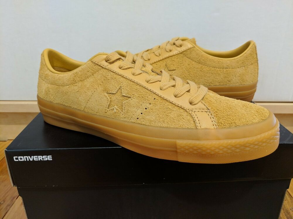 20fbe1a44bed Converse One Star Sample wheat suede sample  fashion  clothing  shoes   accessories
