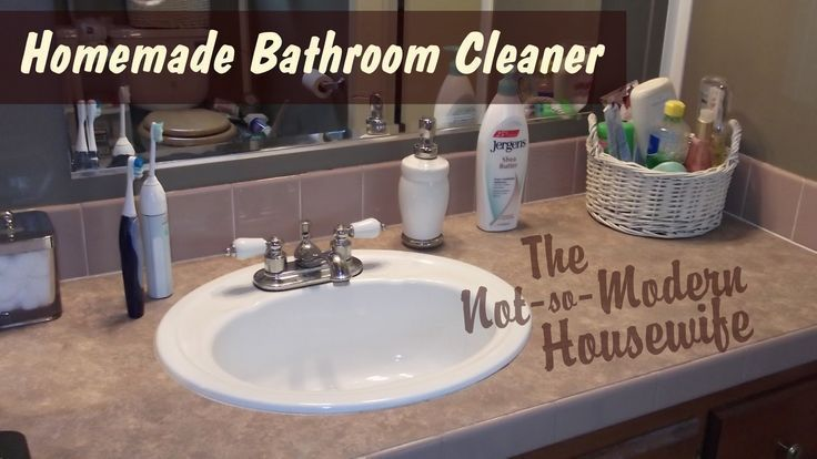 Homemade bathroom cleaner tips for keeping your bathroom