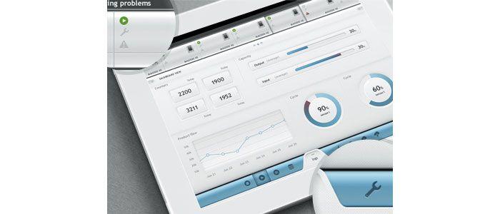 User Interface Design Inspiration - 40 UI Design Examples UI / UX - dashboard design inspiration