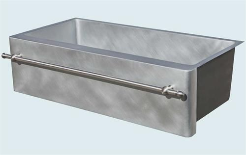 Superior Custom Zinc Sink By Handcrafted Metal On HomePortfolio