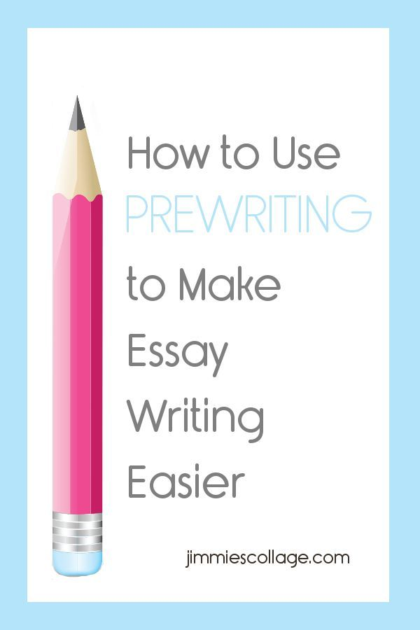 how to use prewriting to make essay writing easier homeschool  how to use prewriting to make essay writing easier