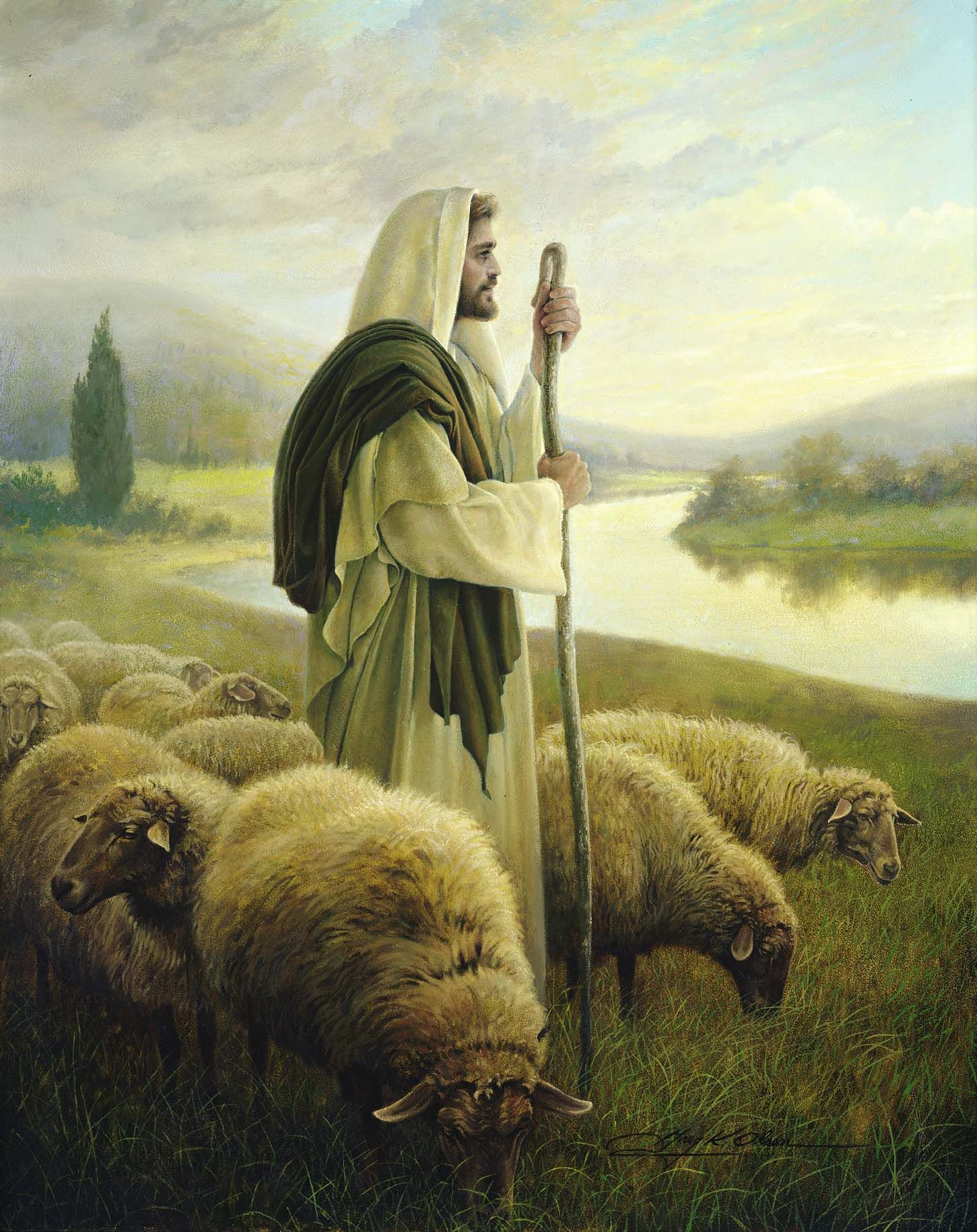 The Good Shepherd | Jesus pictures, Pictures of christ, The good ...