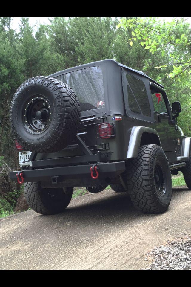 Nicks 26 Rear Bumper W Tire Carrier Custom Sneak Peek Brake