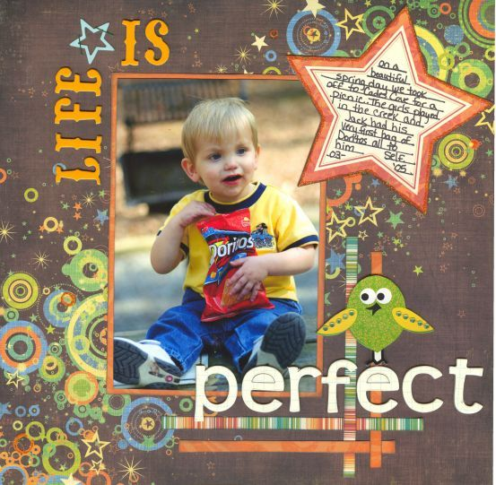 Life is Perfect - Scrapjazz.com