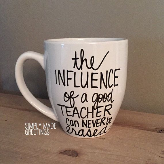 The influence of a good teacher can never by simplymadegreetings
