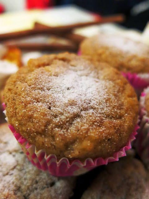 Antipastaa: Omenamuffinit (gluteeniton, viljaton, sokeriton, maidoton, vhh)