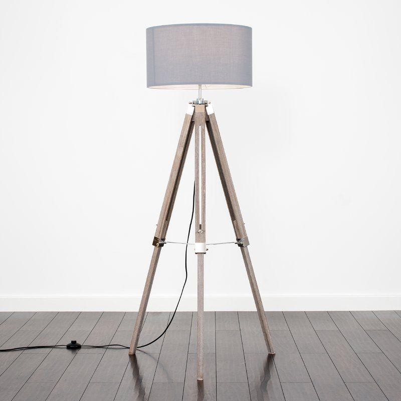 huge discount 5f4a8 fcf5a Warrensburg 147cm Tripod Floor Lamp | The white company ...