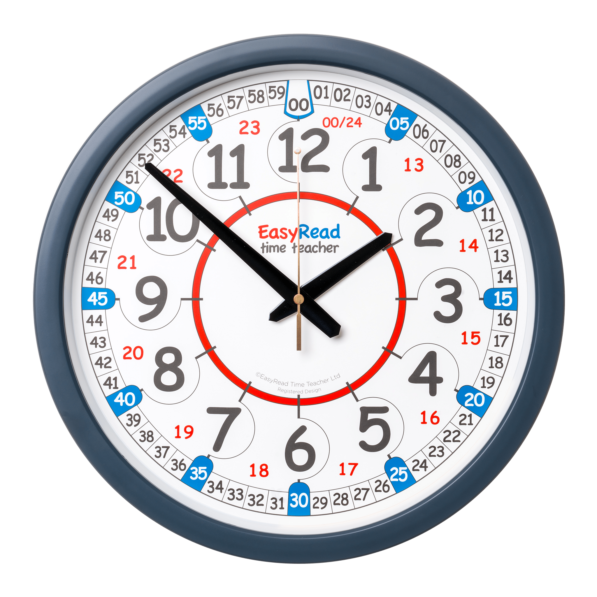 35cm Classroom Clocks Easyread Time Teacher Classroom Clock Classroom Walls Wall Clock