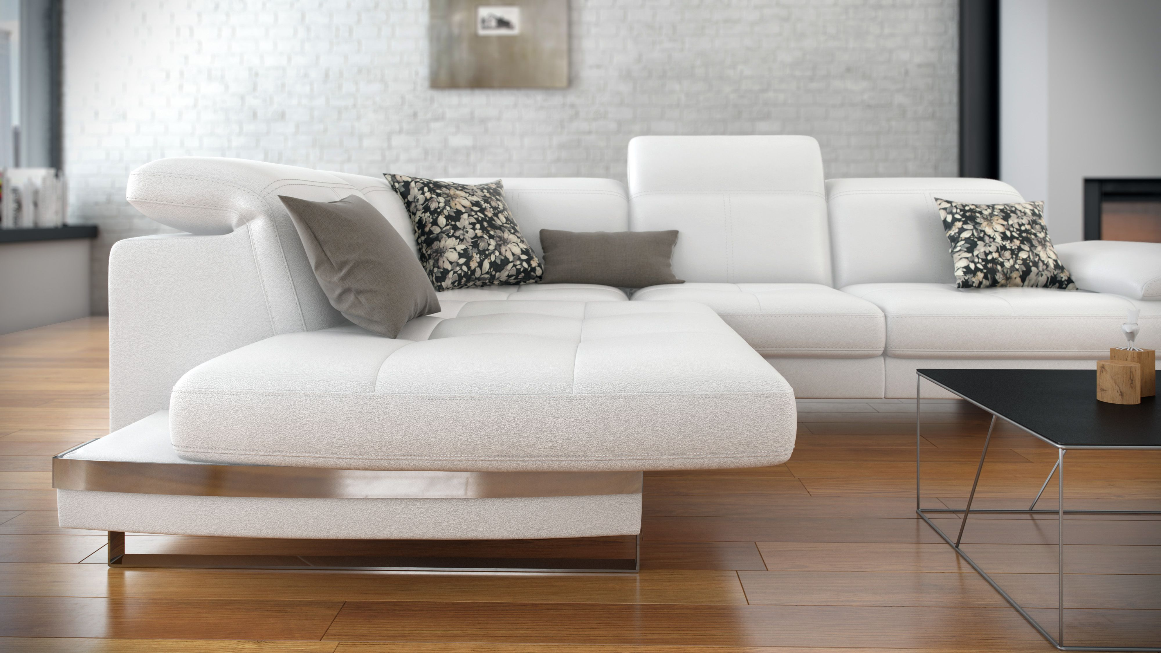fering form and function Antigua Sofa from ROM