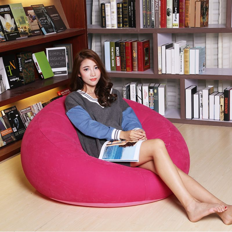 Attractive New Sofa Lazy Inflatable Sofa Single Lazy Nap Bedroom Small Sofa Chairs  Sitting Room Sofa Couch