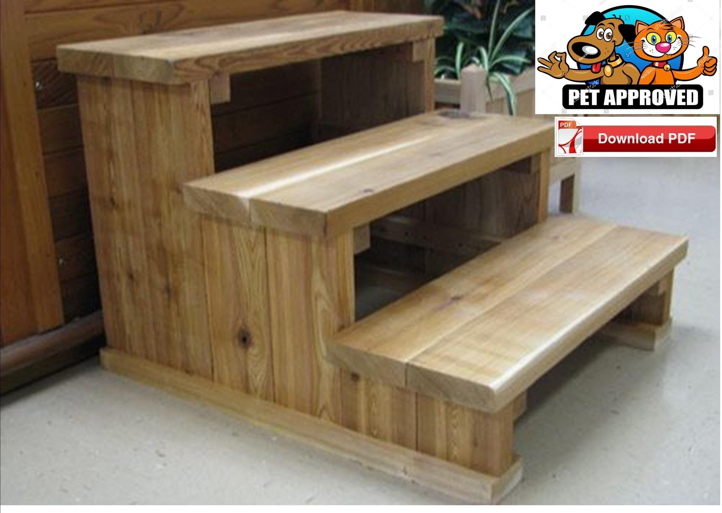 Pet Steps Plan Pet Stair Plan Dog Steps Plan Dog Stair Plan Animal