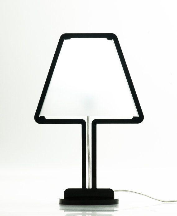 Acryl Lampe wiederhergestellt / / SOB / / LampBED / / handgemachte…