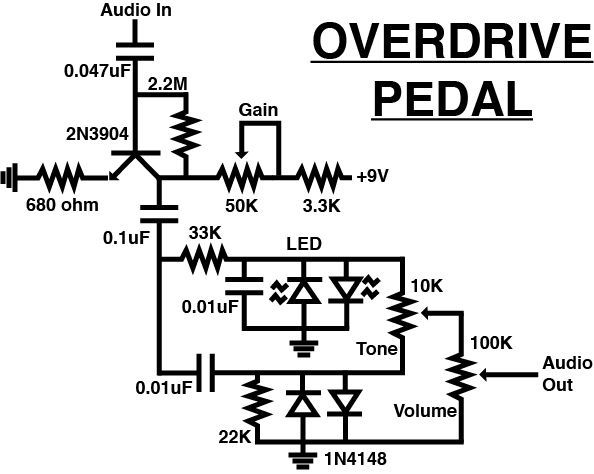 Overdrive Pedal | Diy guitar pedal, Guitar pedals ... on vox distortion pedal, low power amp pedal, acoustic distortion pedal, diy ir filter, diy distortion analyzer, graphic distortion pedal, diy piping bag, vintage distortion pedal, tin guitar effect pedal, diy telephoto lens,
