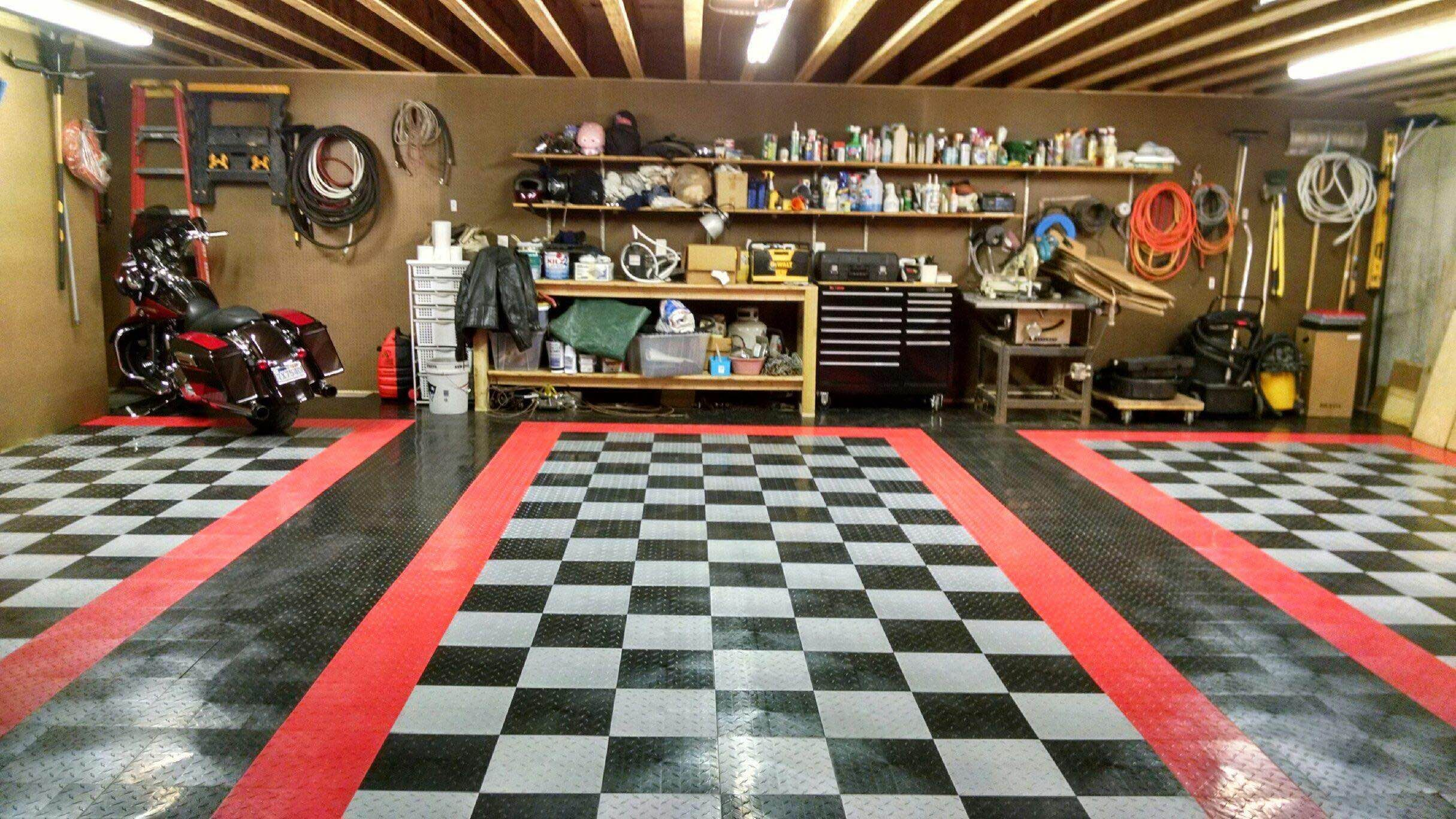 Why vinyl composite tile is a great budget garage floor benefit why vinyl composite tile is a great budget garage floor benefit environment and learning dailygadgetfo Gallery