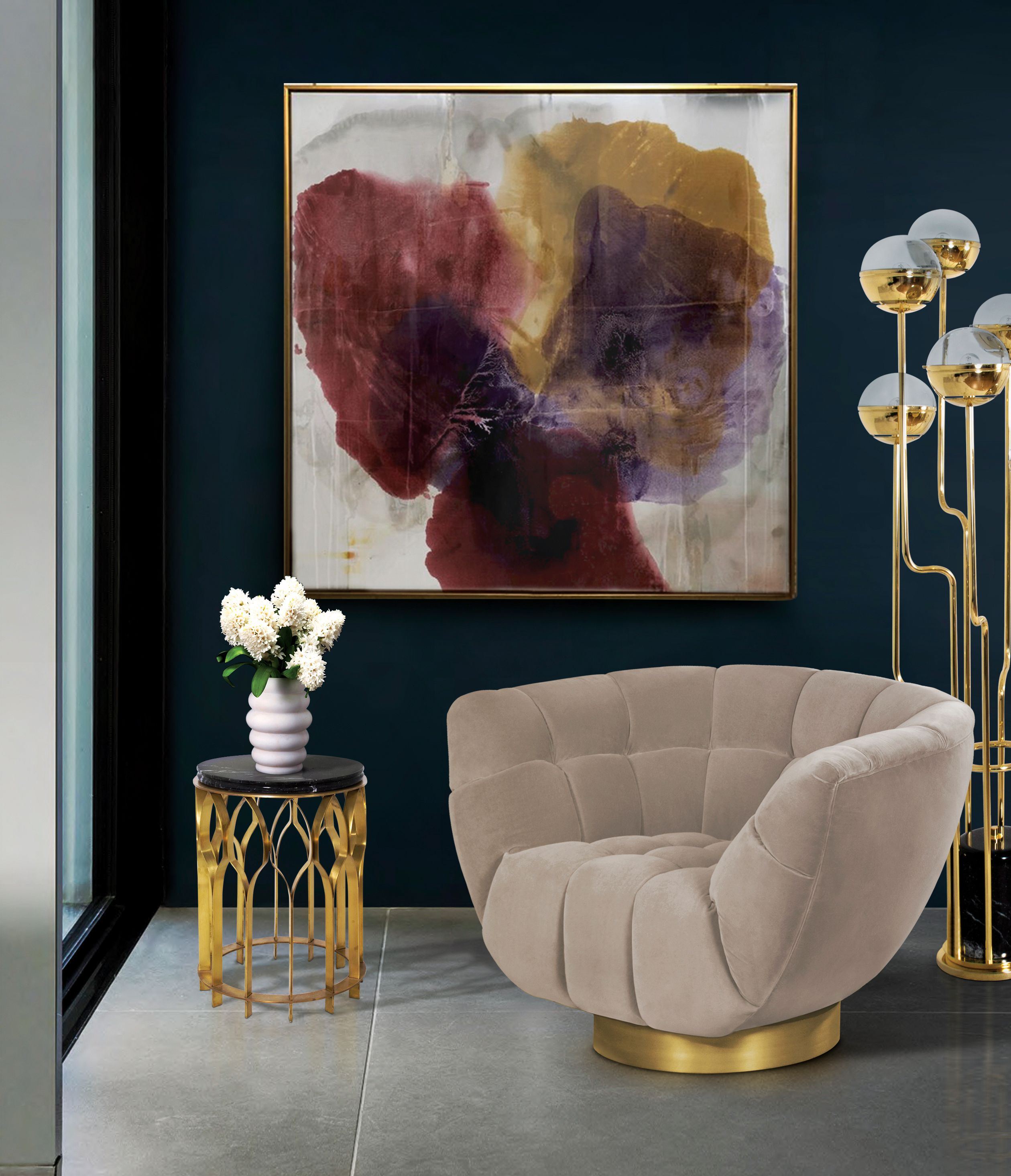 Designer Chairs For Living Room Extraordinary 11 Spectacular Velvet Chairs That Your Living Room Set Longs For Design Inspiration