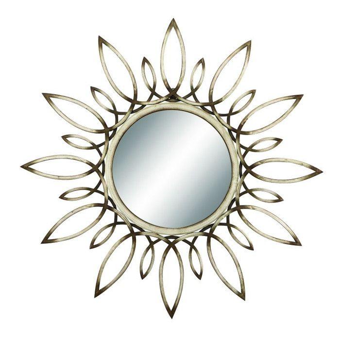 Cole & Grey Metal Mirror & Reviews | Wayfair