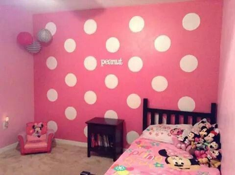 Minnie Mouse Bedroom | Kid\'s Room Ideas in 2019 | Minnie mouse room ...