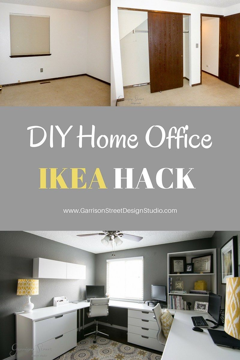 A Real Home Office | Home office layouts, Ikea home office ...