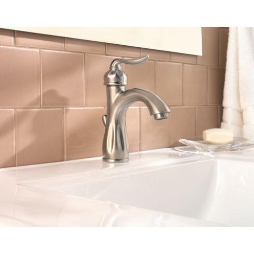 Pfister Pf042lt0k Sedona Single Hole Bathroom Faucet Brushed Nickel At Ferguson Com Bathroom Faucets Bathroom Sink Faucets Faucet