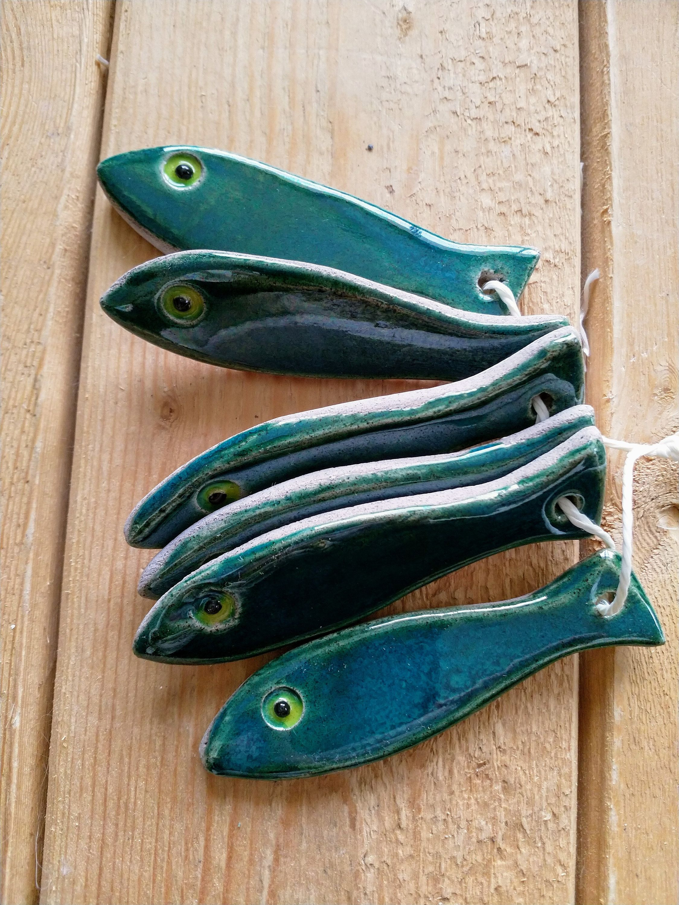Boutique Art Et Decoration Set 8 Sardine Knife Rests Wall Decor In 2019 Céramique Et