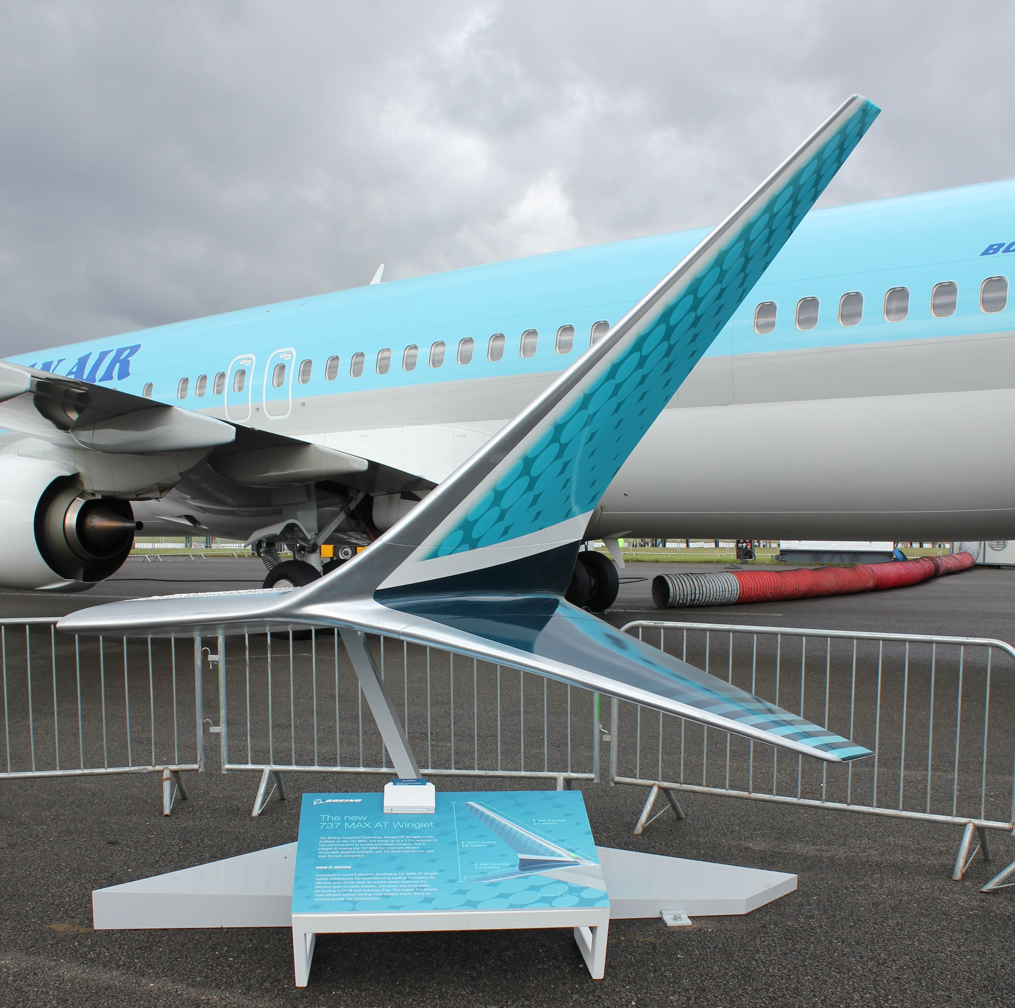 Farnborough Photo Of Note Boeing 737 Max Winglet Boeing 737 Boeing Aviation