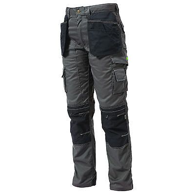 Apache Cargo Trousers Workwear With Holster Pockets /& Kneepad Pockets
