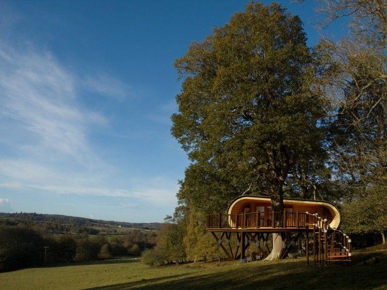 """Una """"casa sull'albero"""" ecosostenibile"""