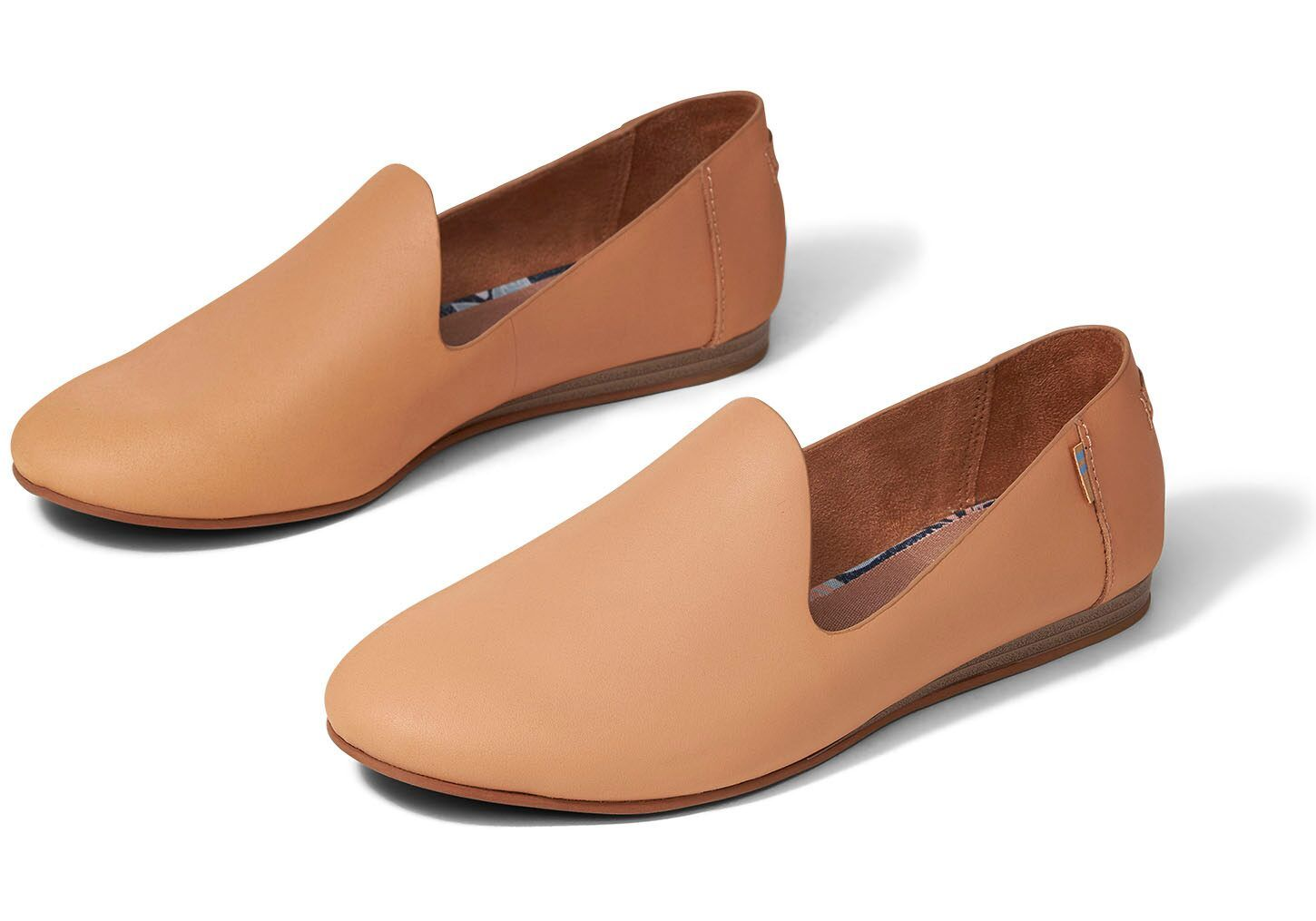 Honey Vegetable Tanned Leather Women's Darcy Flats in 2020
