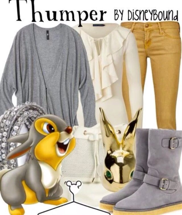 3fc60545039395 Thumper Outfit~Disney Disney Thema Outfits