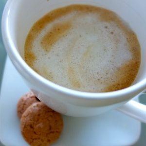 Que buena hora para el olor de un cafe Machiatto